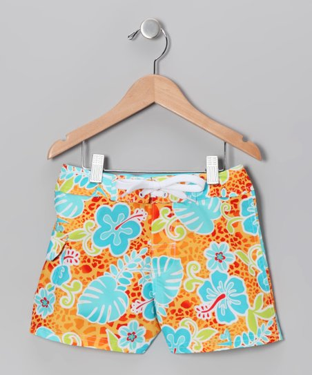Orange Island Boardshorts - Girls