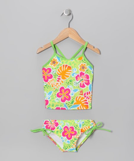 Green Island Tankini - Toddler & Girls