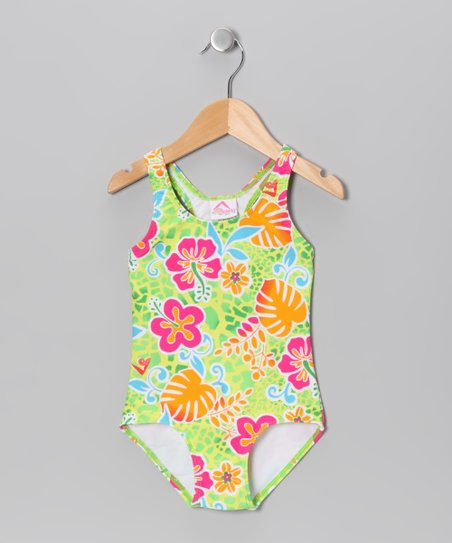 Green Island One-Piece - Infant, Toddler & Girls