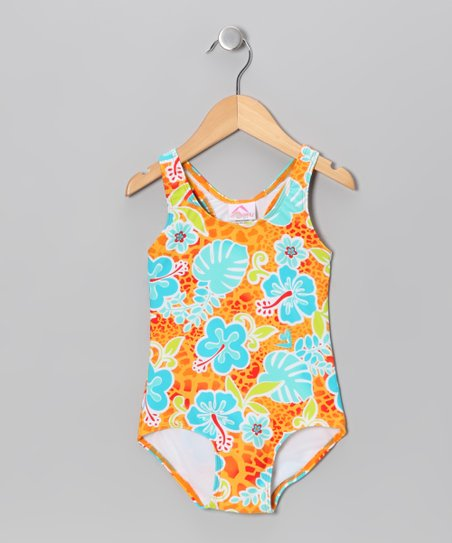 Orange Island One-Piece - Toddler & Girls