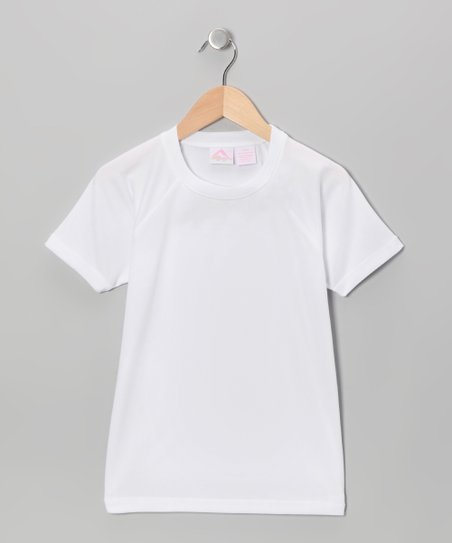 White Rashguard - Toddler & Girls