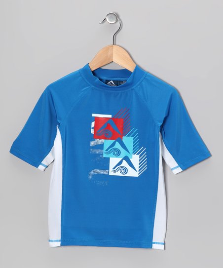 Royal Blue Mercury Rashguard - Toddler & Boys