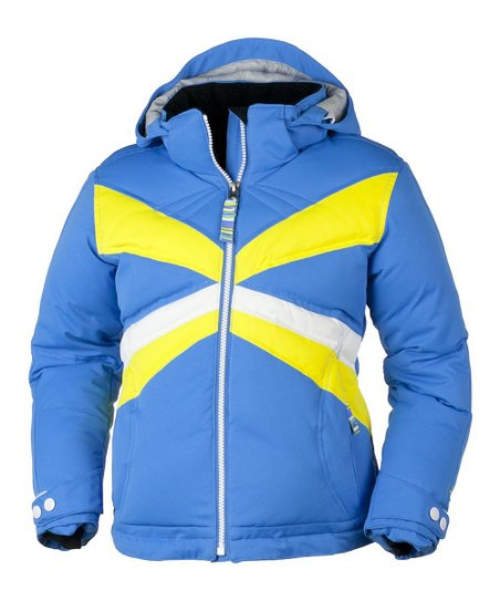 Blue Hawaii Electra Down Jacket - Girls