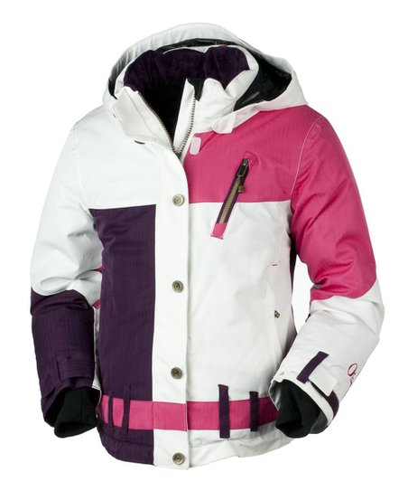 Hibiscus Lighthouse Jacket - Girls