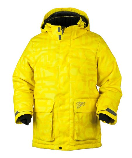 Acid Yellow Scrambled Oracle Parka - Boys
