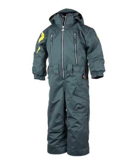 Slate Top Gun Snow Suit - Toddler & Boys