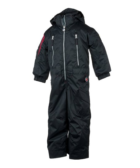 Black Top Gun Snow Suit - Toddler & Boys