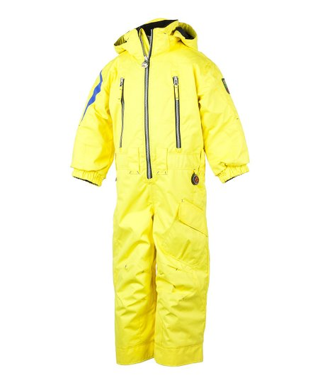 Acid Yellow Top Gun Snow Suit - Boys