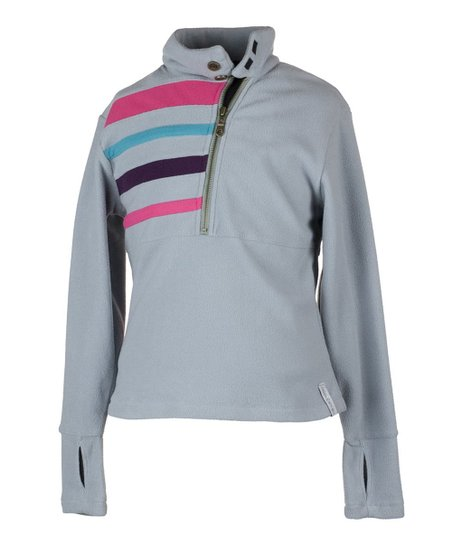 Quarry Regatta Fleece Pullover - Girls