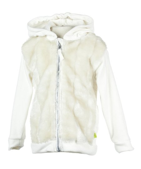 Marshmallow Zoe Fleece Jacket - Infant, Toddler & Girls