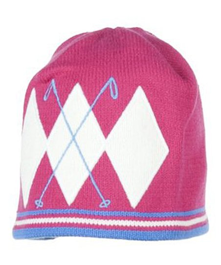 Berry Poles Knit Beanie