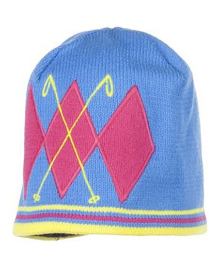 Blue Hawaii Poles Knit Beanie