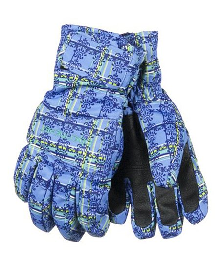 Provence Plaid Alpine Gloves