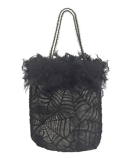 Black Feather Treat Bag