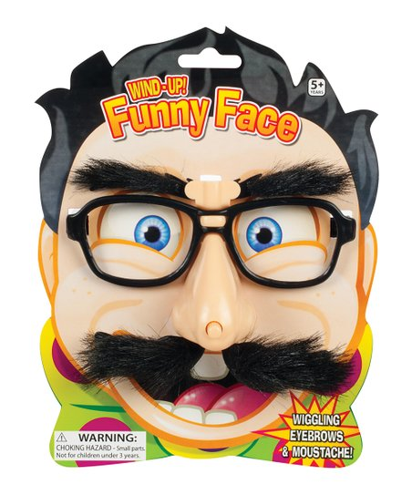 Wind-Up Funny Face Glasses - Set of Three