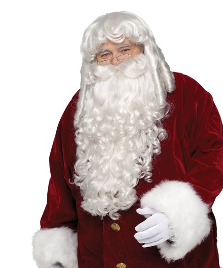 White Santa Beard & Wig - Men & Women