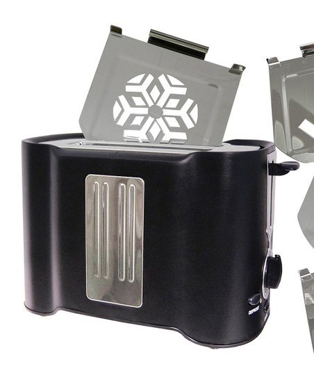 Black Four-Image Toaster