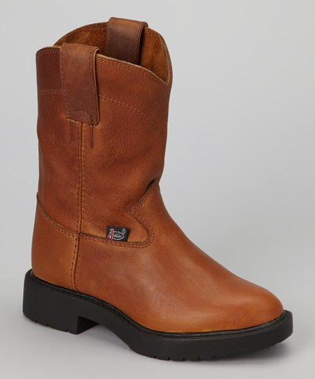 Copper Caprice Cowboy Boot - Kids
