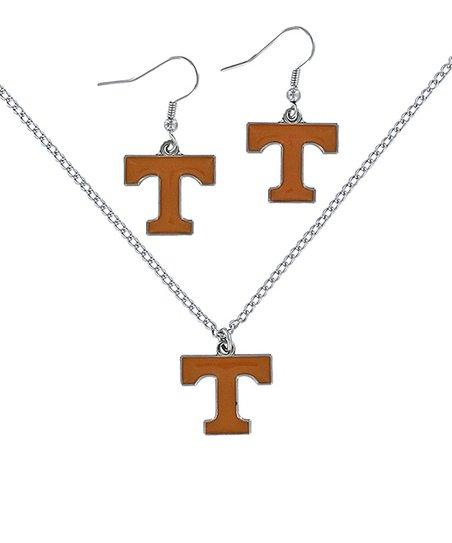 Tennessee Volunteers Necklace & Earrings