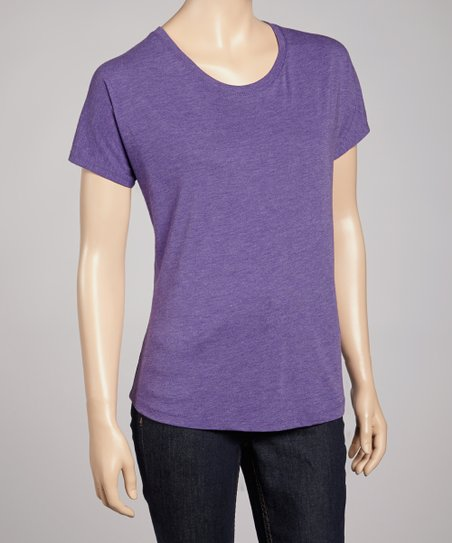 Purple Short-Sleeve Tee