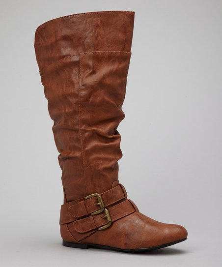 Tan Vickie Boot