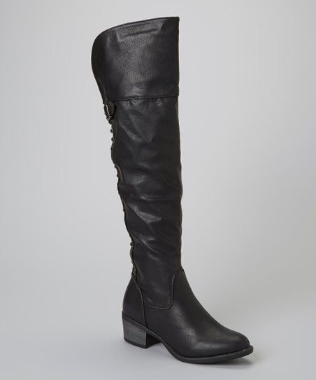 Black Rhonda Boot