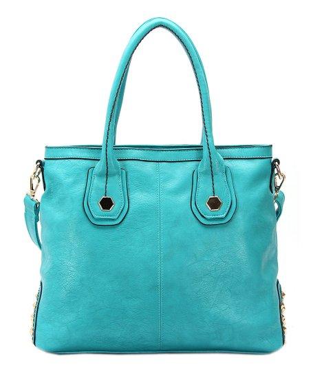 Turquoise Hannah Shoulder Bag