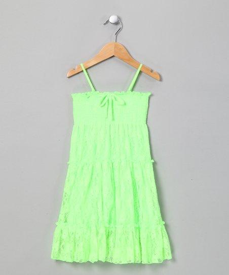 Sea Green Lace Convertible Dress