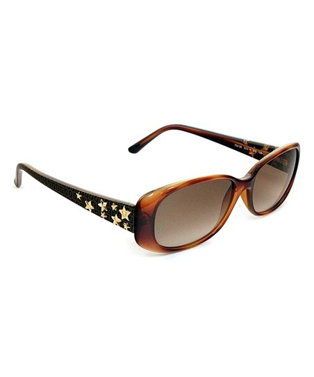 Light Havana Star Sunglasses