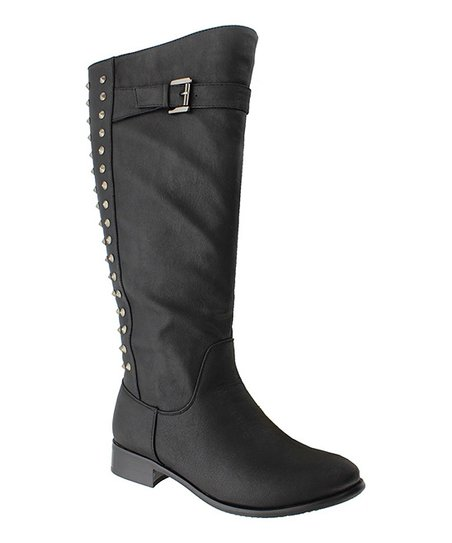 Black Emerson 8 Boot