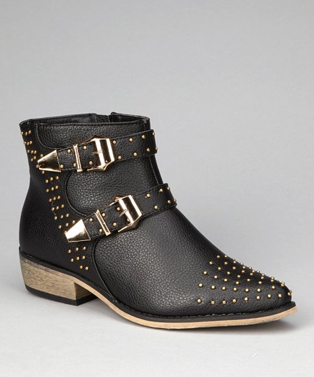Black Alicia Ankle Boot