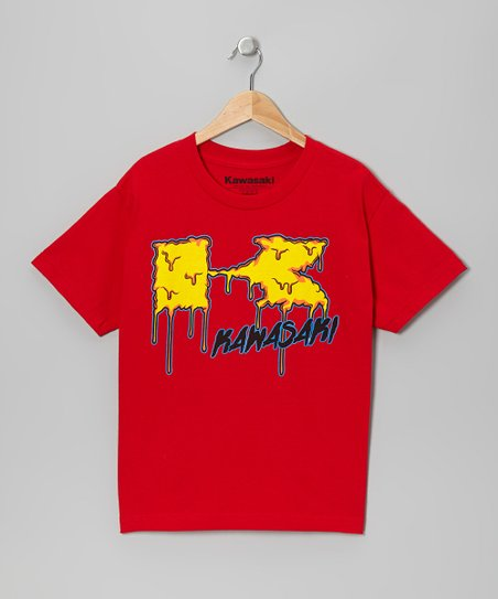 Red Slime Tee - Kids