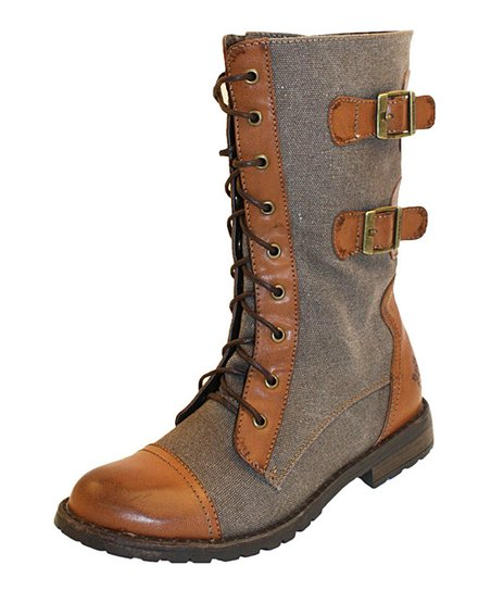 Cognac Force Boot