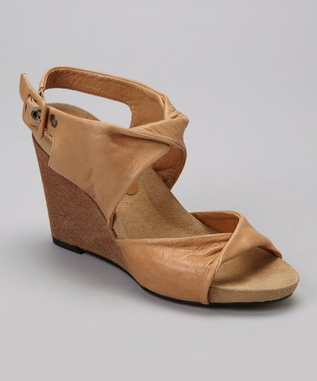 Sand Geneva Leather Sandal