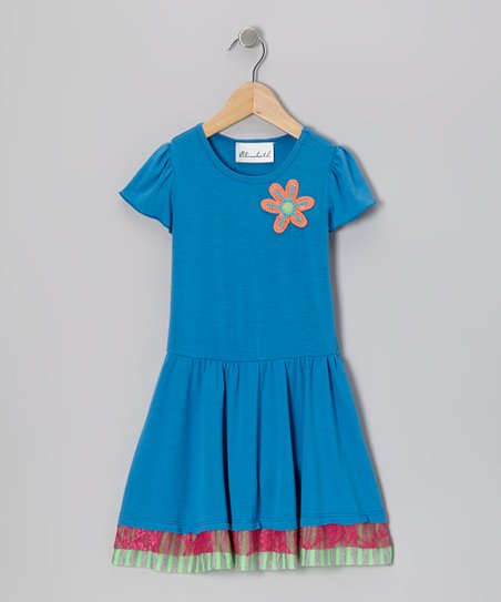 Royal Flower Dress - Toddler & Girls