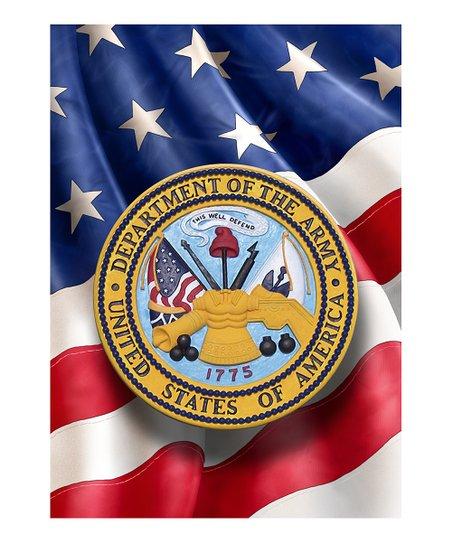 """Army 18"""" Garden Flag"""