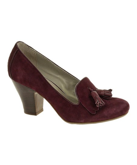 Plum Suede Lonna Pump - Women