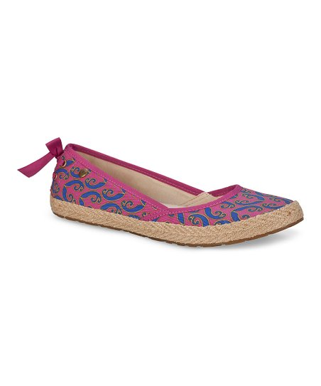 Raspberry Sorbet Indah Marrakech Slip-On Shoe