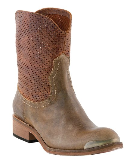 Tobacco Molly Short Boot - Women