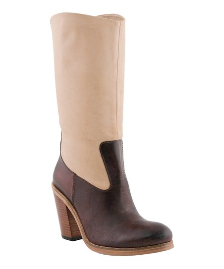 Bone & Brown Riley Boot - Women