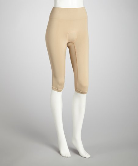 Nude Capri Riding Tights - Women