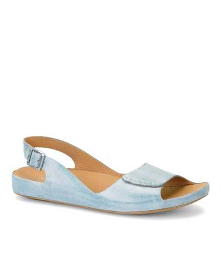 Baby Blue Faith Sandal