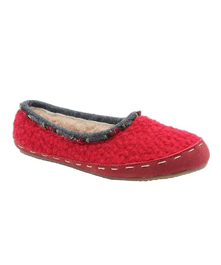 Ruby Campout Slipper