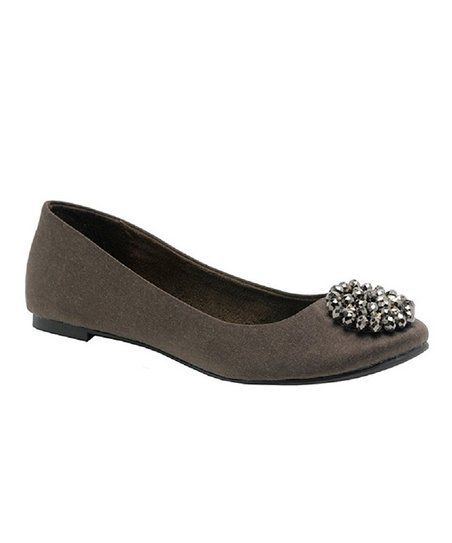 Bean Brushed Madra Ballet Flat