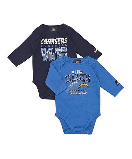 San Diego Chargers Long-Sleeve Bodysuit Set - Infant