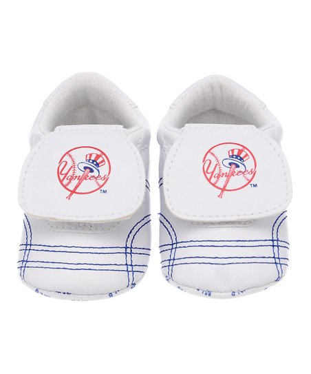 New York Yankees White & Blue Sports Bootie - Kids