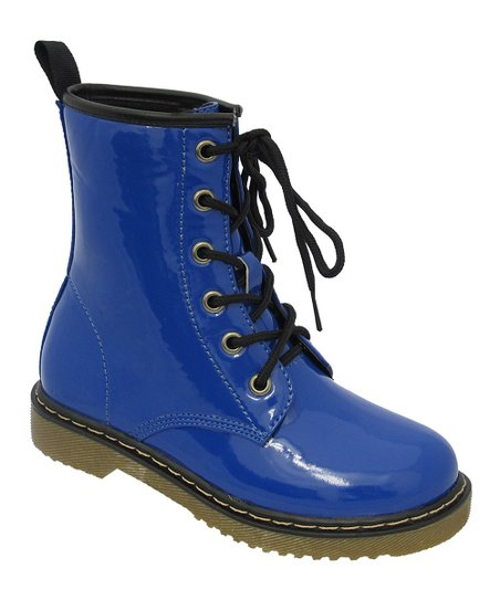 Blue Welma Boot