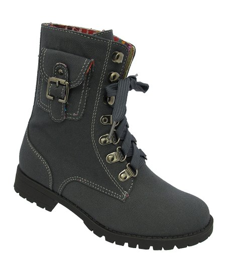 Gray Cool Boot