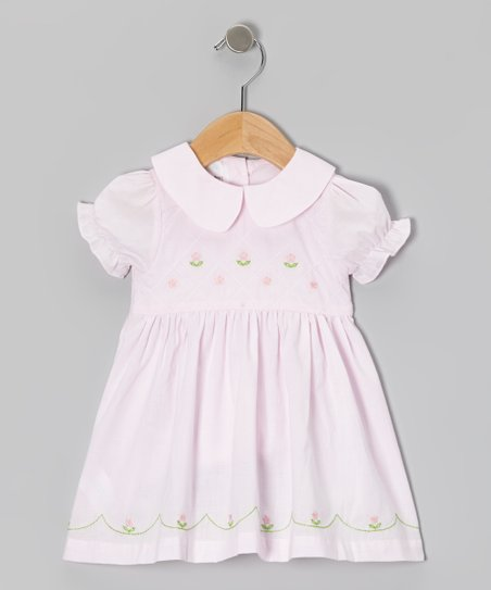 Pink Flower Dress - Infant & Toddler