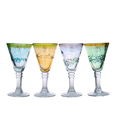 Sunrise 11-Oz. Goblet - Set of Four